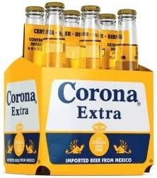 6 er Pack Corona Extra aus Mexiko SIXPACK 6 x 33cl Bier