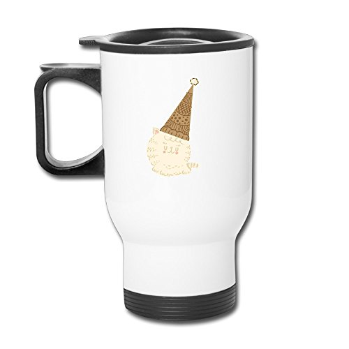 Personality Holiday Ice Cream Cat Funny Picture Proof Mug-Travel Mugs.