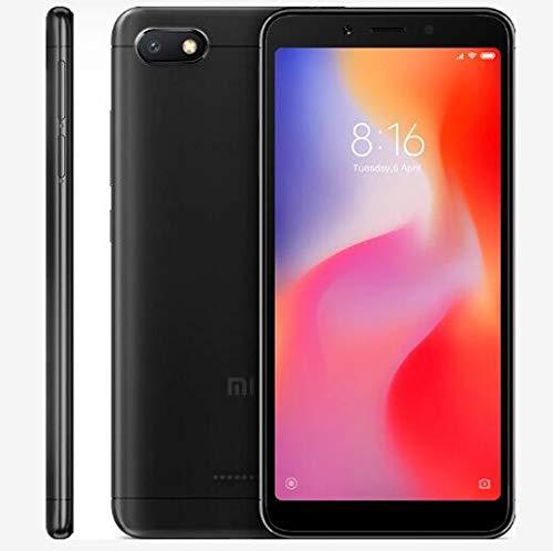 Xiaomi Redmi 6A Smartphone Dual Sim de 32 GB, Negro [Italia]