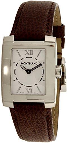 reloj-montblanc-coleccion-de-perfil-de-cuero-negro-del-cuarzo-de-acero-7265