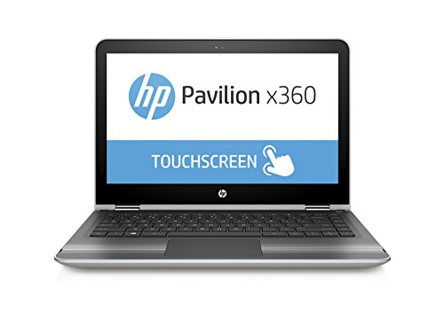 HP Pavilion X360 13-U133TU Laptop (Windows 10, 8GB RAM, 1000GB HDD) Natural Silver Price in India