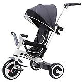 Best Baby Bike Strollers - HOMCOM Baby Tricycle Children's 4 In 1 Trikes Review