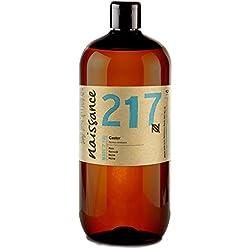 Naissance Huile de Ricin (n° 217) Pressée à froid - 1 litre – 100% pure, végan, sans hexane, sans OGM