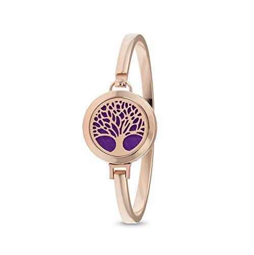 Nelke Diffusor (aromalove London Tree of Life Diffusor Armband rose gold)