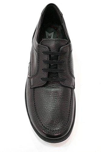 Mephisto Janeiro Naturel 7251 Marron Fonce, Noir Chaussures À Lacets Pour Hommes
