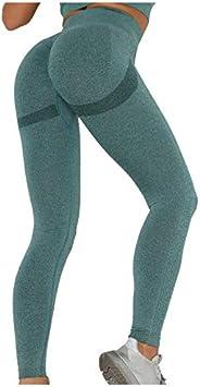 TWIOIOVE Leggings de Sport Femme Anti-Cellulite Pantalon de Fitness Haute Slim Push Up Butt Lifter Pants Yoga