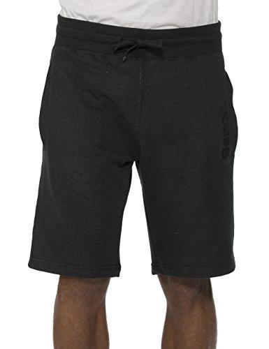 Bench Herren Shorts Bench-mark E Schwarz (Jet Black Marl BK014X)