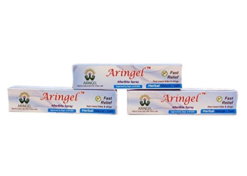 Aringel Afterbite Herbal Spray (8Ml Each) Set Of 3 Fast Relief From Insect Bites & Stings  available at amazon for Rs.187