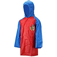 Character Paw Patrol Blue & Red 2-6 Years 100% PVC Raincoat