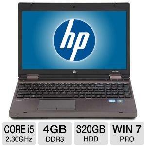 Portatile HP ProBook 6570B - Intel iCore i5 2,5Ghz x 2 - Ram 4GB - Schermo 15,6in LED - RS232 - Windows 7 oppure Windows 10 - Usato(Ricondizionato)