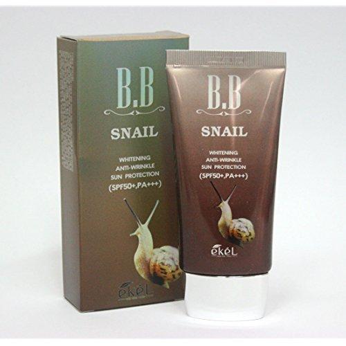 eKeL Snail Bb Cream 50Ml / Blemish Balm,Whitening,Anti-Wrinkle Spf50+ Pa+++ / Korea Cosmetics -
