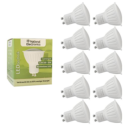 10x-national-electronics-gu10-35w-320lm-120-led-bombilla-blanco-calido-kit-de-ahorro-