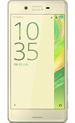 "Sony Xperia X Single SIM 4G 32GB Gold,Lime - smartphones (12.7 cm (5""), 32 GB, 23 MP, Android, 6.0, Gold, Lime)"