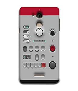 PrintVisa Designer Back Case Cover for Coolpad Note 5 (Audio System Remote Power Buttons )