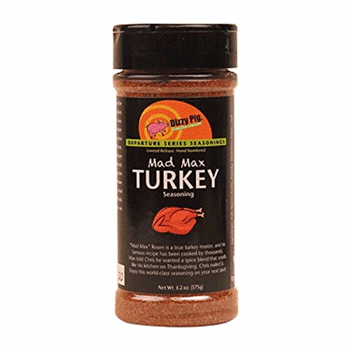Preisvergleich Produktbild Dizzy Pig BBQ 'Mad Max' Turkey Rub - 175g (6.2 oz)