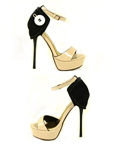 SKO'S  Various designs exclusively low prices !, Escarpins pour femme Beige (058-f8)