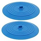 keesin silicona bañera tapón de drenaje bañera tapón para cocina baño 6, 2unidades