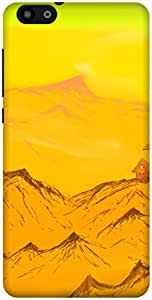 The Racoon Lean Majestic Hills hard plastic printed back case / cover for Huawei Honor 4X