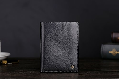 41htGFPbzSL - Cronus & Rhea® | Luxury wallet with coin pocket made of exclusive leather (Charon) | Wallet - Wallet - Wallet - Money Clip | Real leather | With elegant gift box | Men