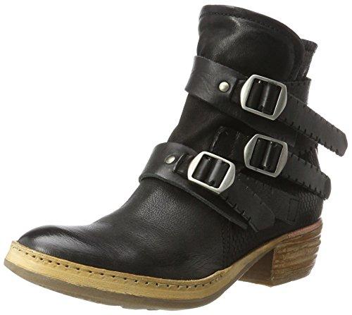 A.S.98 Damen Haiti Cowboy Stiefel, Schwarz (Nero), 38 EU