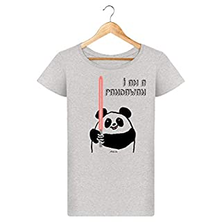 ArteCita Damen T-Shirt Gr. XS, grau meliert