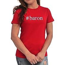 Camiseta de Mujer #Baron Hashtag