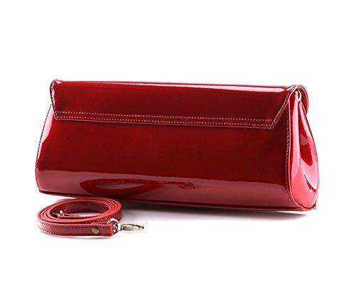WITTCHENVerona - Borsa a tracolla donna Rosso (Rosso)