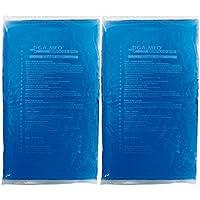 Preisvergleich für Kalt Warm Kompressen 2er Pack (2 Stück) 21x38cm Gel Kompresse blau Cold Hot Pack Kältekompressen Original Tiga-Med