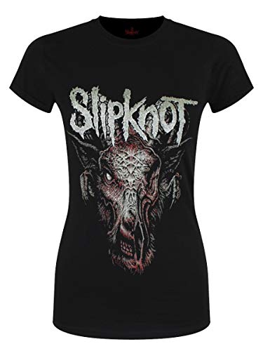 Slipknot Damen T-Shirt Infected Goat schwarz