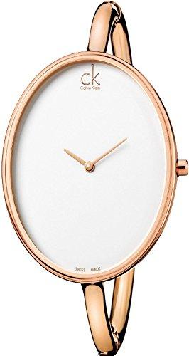 Calvin Klein Womens Analogue Quartz Watch with Stainless Steel Strap K3D2M616