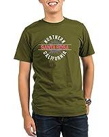 CafePress Santa Rosa California Organic Men's T-Shirt dark
