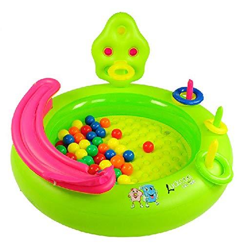 TXDY Aufblasbares Pool der Säuglingskinder, Familien-Außenpool-Sommer-Spaß-Schwimmen-Spielzeug Trainert im Freien Innenkind, das Baby-Spielzeug-aufblasbares Pool badet