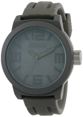 Kenneth Cole Unisex Analogue Watch with Gray Dial Analogue Display - RK1226