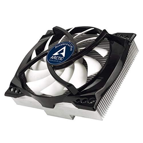 ARCTIC Accelero L2 PLUS - Grafikkartenkühler (Starke Kühlleistung von bis zu 120 Watt und 92mm PWM-Lüfter) - Ati Radeon Hd 3450