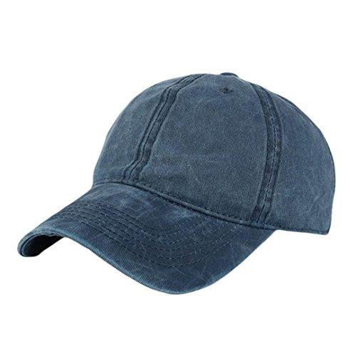 UFACE Leichte Edition Pure Color Baseball Cap Mode Frauen Männer Einstellbare Sommer Solide Glitter Cap Hüte Baseball-Mütze (Marine-2)