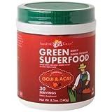 Green Superfood Drink Powder - 210-240g - Goji & Acai
