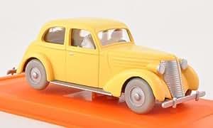 Limousine, gelb, mit Figuren aus Tim & Struppi , Modellauto, Fertigmodell, SpecialC.-64 1:43