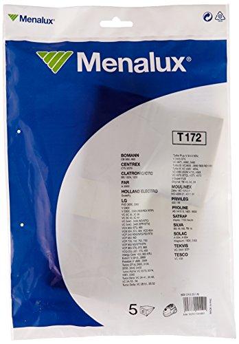 Menalux T172 sacchetti per aspirapolvere per Goldstar, confezione da 5