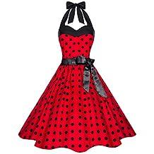 f8e69de51a24 Suchergebnis auf Amazon.de für: rotes kleid mit schwarzen punkten