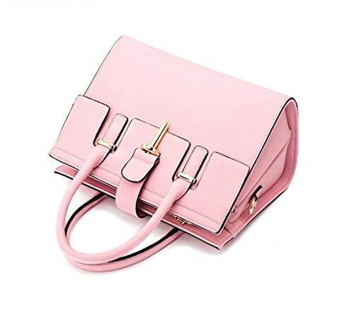Semplici Borse Moda Selvatici Spalla Portatile Borsa Messenger Bag Borsa Delle Signore Pink