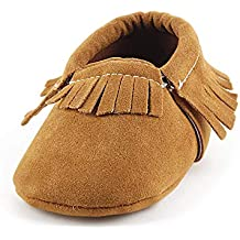 e6e536385 Amazon.es  mocasines bebe - Marrón