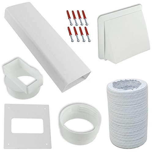 spares2go-exterior-wall-venting-kit-extension-hose-for-logik-tumble-dryers-white-4-102mm
