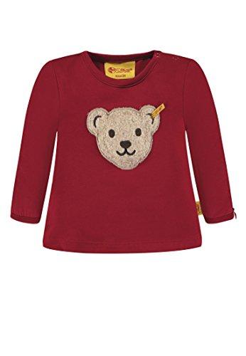 Steiff Baby-Mädchen Langarmshirt T-Shirt 1/1 Arm, Rot (Jester red 2120), 68