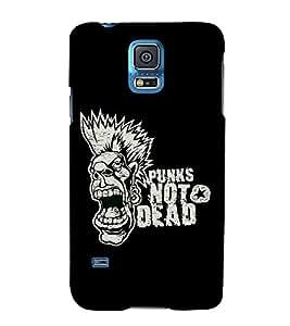 FUSON Punk Not Dead 3D Hard Polycarbonate Designer Back Case Cover for Samsung Galaxy Grand 2 :: Samsung Galaxy Grand 2 G7105 :: Samsung Galaxy Grand 2 G7102 :: Samsung Galaxy Grand Ii
