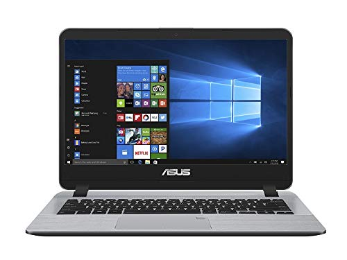 ASUS VivoBook X407UA-EK558T 14.0-inch Thin and Light Laptop (8th Gen Intel Core i5-8250U/8GB/1TB HDD/Windows 10/Integrated Graphics/1.55 Kg), Starry Grey