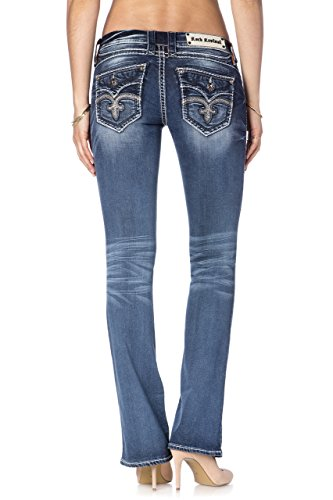 Rock Revival - - Damen Bootcut Jeans Semak Denim