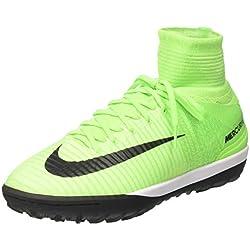Nike Mercurialx Proximo Ii Tf - Scarpe da Calcio Uomo, Verde (Electric Green/black-hyper Orange-volt), 39 EU