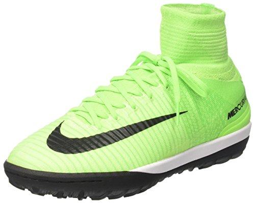 Nike Mercurialx Proximo II Tf, Scarpe da Calcio Uomo, Verde (Electric Green/Black-Hyper Orange-Volt), 41 EU
