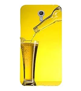 PrintVisa Beer Friends Forever 3D Hard Polycarbonate Designer Back Case Cover for Lenovo ZUK Z2 Pro