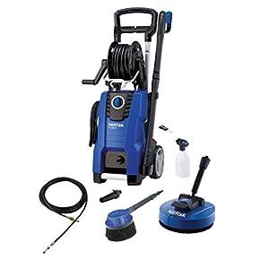Nilfisk E 140.3-9 PAD X-TRA Vertical Eléctrico 500, 450l/h 2100W Negro, Azul Limpiadora de alta presión o Hidrolimpiadora – Limpiador de alta presión (Vertical, Eléctrico, 9 m, 5 m, Negro, Azul, Aluminio)